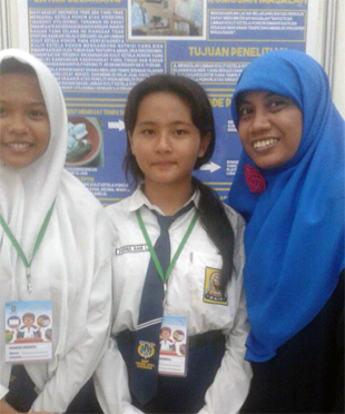 Peneliti Belia SMP Taruna Jaya